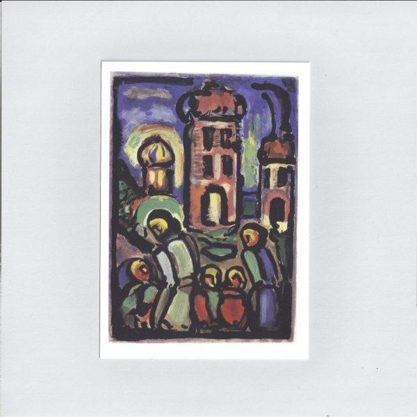 Rouault christ et pauvres