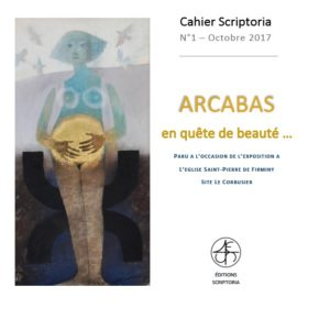 Couverture cahier N° 1 Arcabas